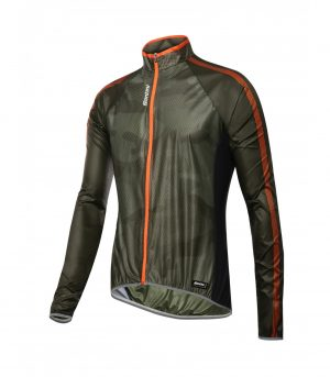 Santini Fine Windbreaker Green